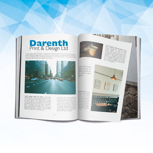 Brochures at Darenth Print, Dartford Kent