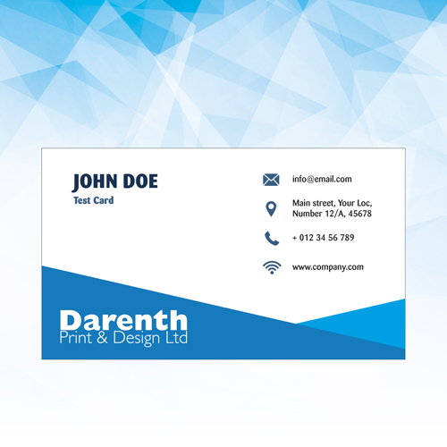Business Cards at Darenth Print, Dartford Kent