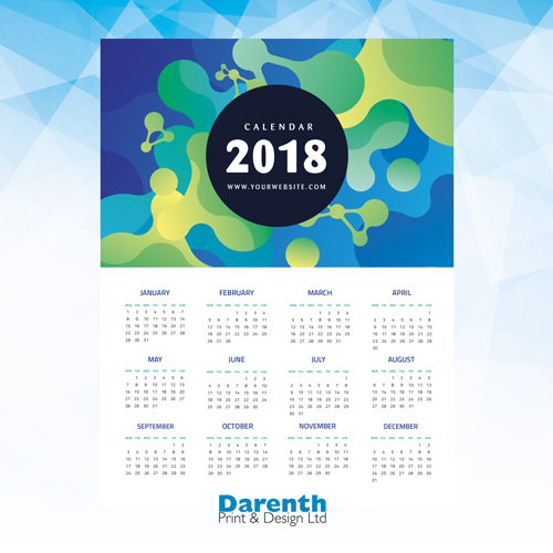 Calendars at Darenth Print, Dartford Kent