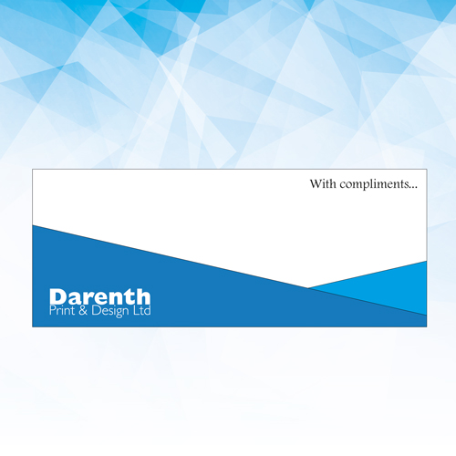 Compliment Slips at Darenth Print, Dartford Kent