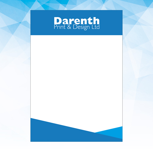 Letterheads at Darenth Print, Dartford Kent