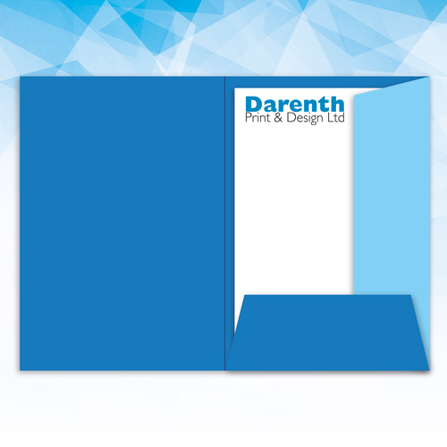 Presentation Folders at Darenth Print, Dartford Kent