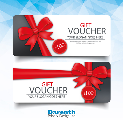 Tickets and Vouchers at Darenth Print, Dartford Kent
